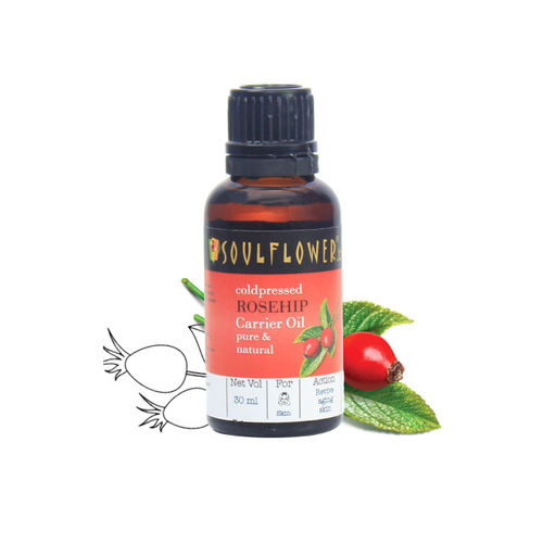 Soulflower Rosehip Pure and Natural Oil 30ml
