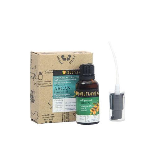 Soulflower Argan Oil Premium Cold Pressed Hair & Body Oil