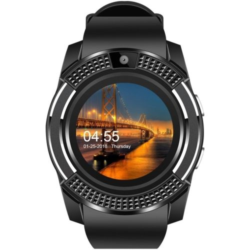 Life Like V8 phone BLACK Smartwatch