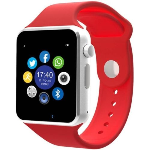 King A1 phone Red Smartwatch