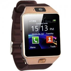Sportzee Brown DZ09 Smartwatch