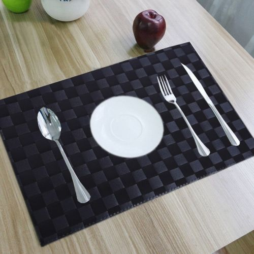 Kuber Industries Square Pack of 6 Table Placemat