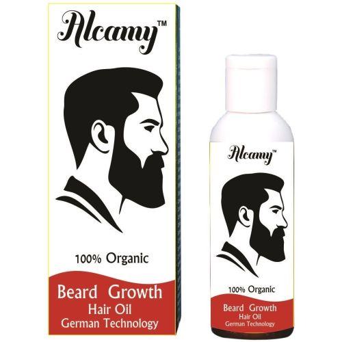 Alcamy Beard Growth Hair Oil (50ml) Hair Oil