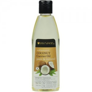 Soulflower Coldpressed Coconut Carrier Oil Hair Oil