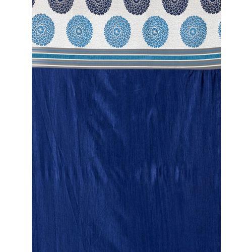 Cortina Blue & White Set of 2 Window Curtains