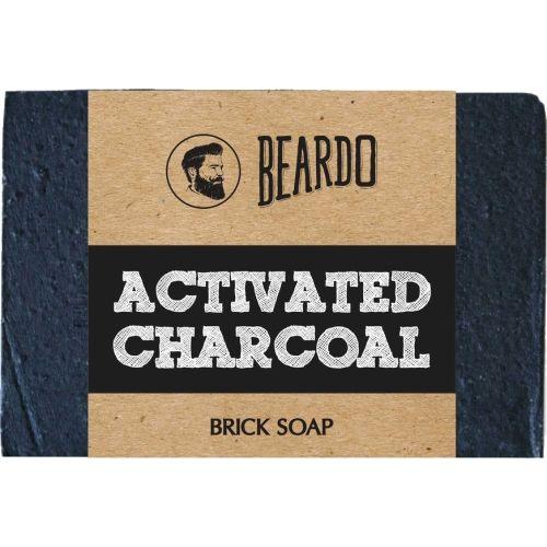Beardo ACTIVATED CHARCOAL Brick Soap 125g