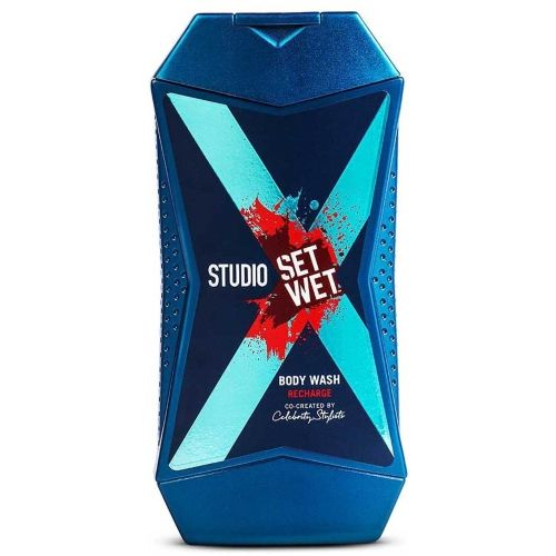 Set Wet Studio X Body Wash For Men - Recharge