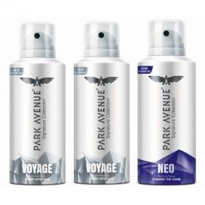 Park Avenue Signature - Voyage, Neo Deodorant Spray - For Men