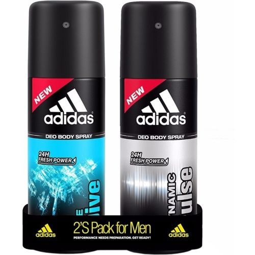 ADIDAS Dynamic Pulse & Ice Dive Deodorant Spray - For Men