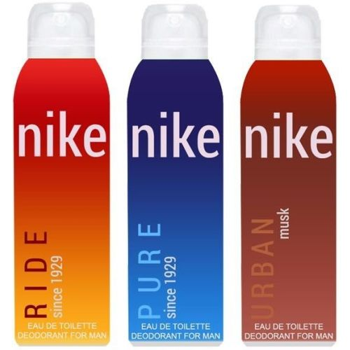 Nike Ride Pure Urban Musk Body Spray - For Men
