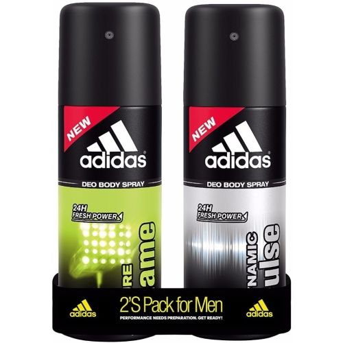 ADIDAS Dynamic Pulse & Pure Game Deodorant Spray - For Men