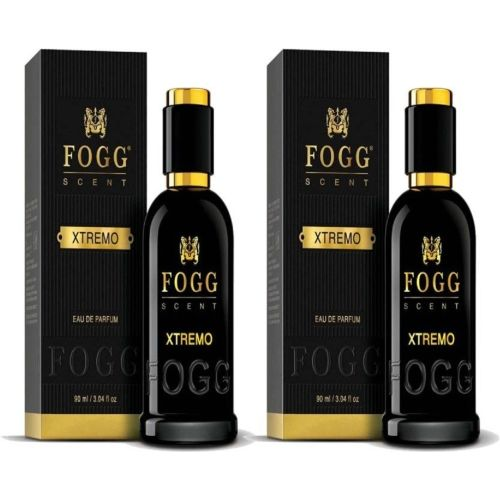 Fogg Scent Xtremo EDP Perfume Pack of 2 (90ML each) Eau de Parfum - 180 ml