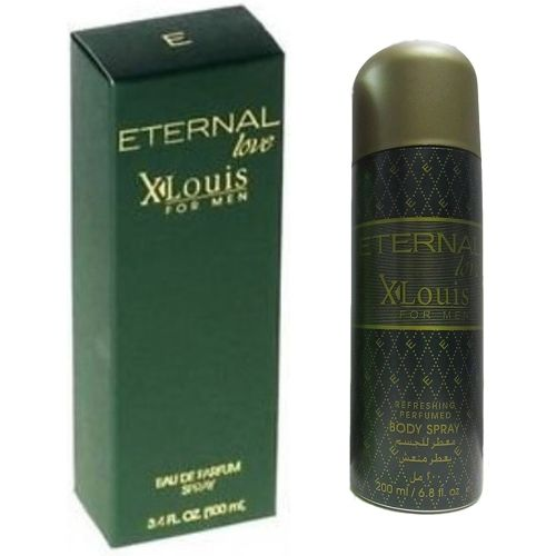 ETERNAL LOVE XLouis Perfume AND Body Spray For Men(100+200ML) Eau de Parfum - 300 ml