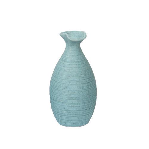 Aapno Rajasthan Blue Ceramic Flower Vase