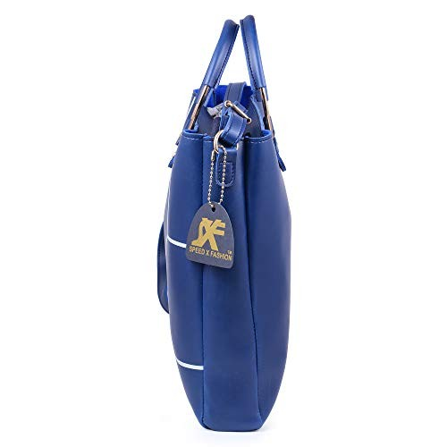 Speed X Fashion Blue Leather Handbags & Shoulder Bag Combo