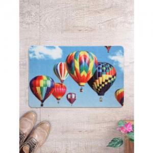 Cortina Multi Color Patterned Rectangular Anti-Skid Doormat