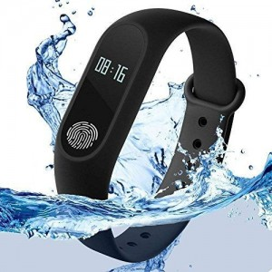 Zaptin Black Solid Variation_Zap30 Fitness Band