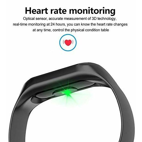 Xotak Heart Rate Monitor Bluetooth Health Black Fitness Tracker