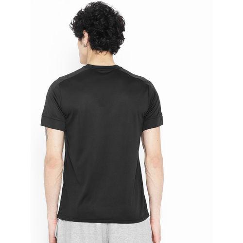Adidas Black Printed ID Stadium Badge Of Sport T-shirt