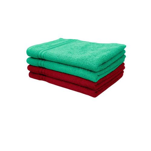 swiss republic Set of 4 Cotton 450 GSM Hand Towels