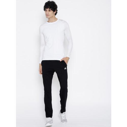 807a4faf9ca16 Buy Adidas White Alphaskin Sport Long Sleeve Solid T-shirt online ...