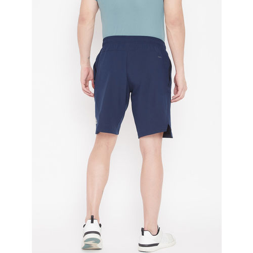 Adidas Men Navy Blue Solid 4KRFT Elevated Training Shorts