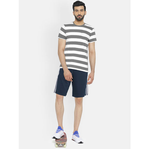 Adidas Men Navy ESS 3S FT Sports Shorts