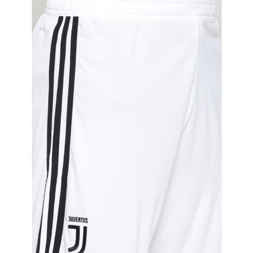 Adidas White Juventus Home Football Shorts
