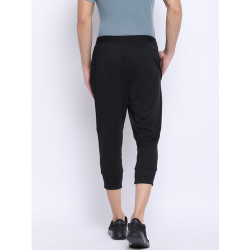 Adidas Men Black WO PA Climacool 3/4 Tapered Fit Training Track Pants