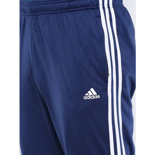 Buy Adidas Men Navy ESS 3S T TRICOT Track Pants online
