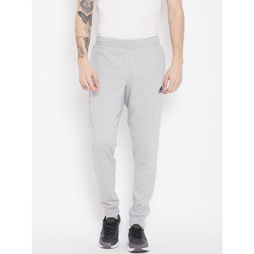 Adidas Men Grey Melange Tango Solid Football Joggers