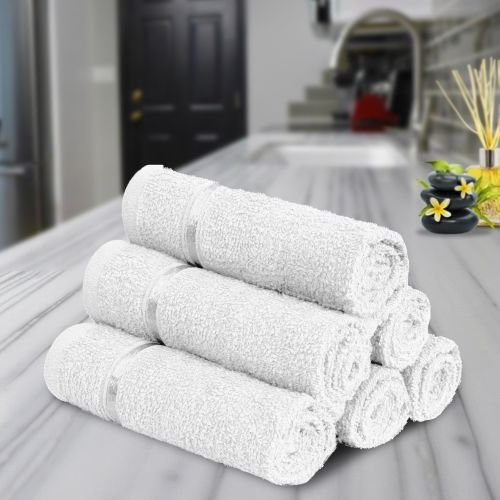 Story@Home Cotton 450 GSM Face Towel Set
