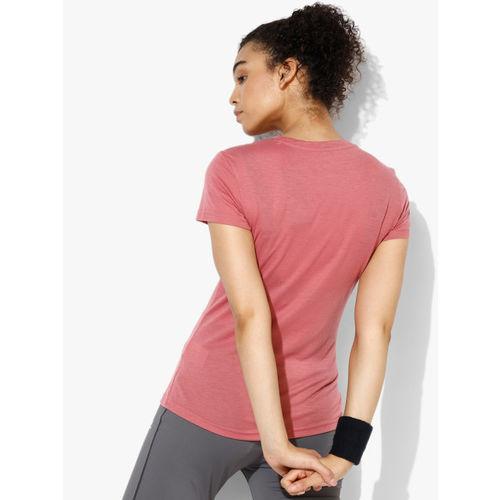 Adidas Freelift Prime Pink Round Neck T-Shirt