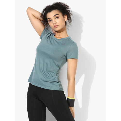 Adidas Freelift Prime Green Round Neck T-Shirt