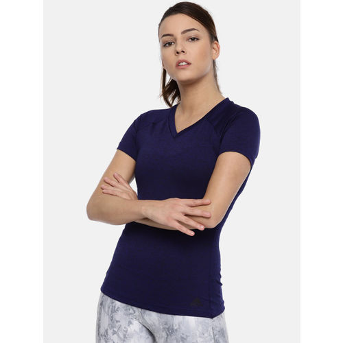 Adidas Blue FREELIFT TEE Slim Fit T-shirt