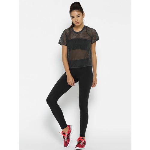 Adidas Black The BT HR Solid Tights