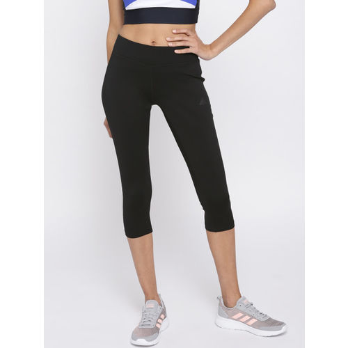 Buy Adidas Women Black D2M RR 3 Training Tights online