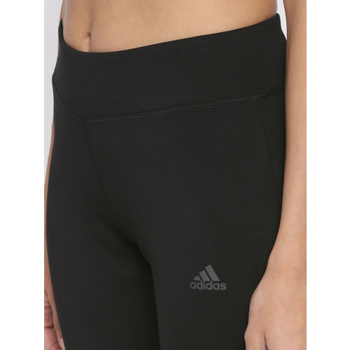 Adidas Women Black D2M RR 3 Training Tights