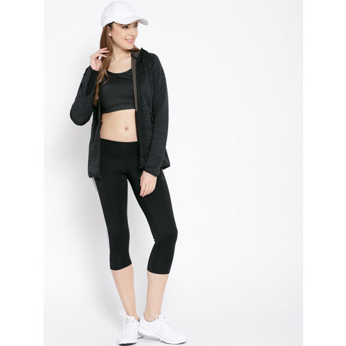 Adidas Women Black Freelift Climaheat Training Sweatshirt