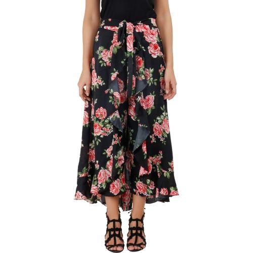 Emeros Regular Fit Women's Black Trousers
