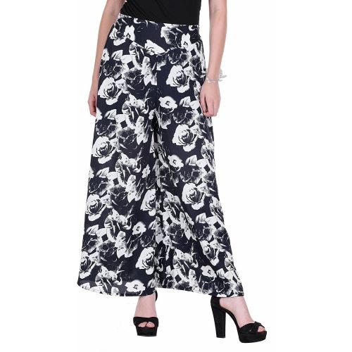 Lili Flared Women Black Trousers