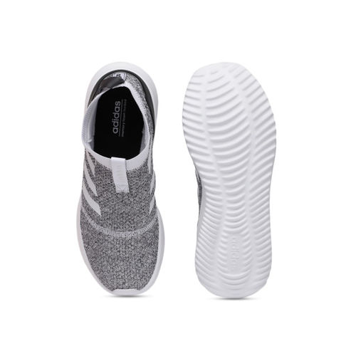 Buy Adidas Women White & Black ULTIMAFUSION Slip on Running
