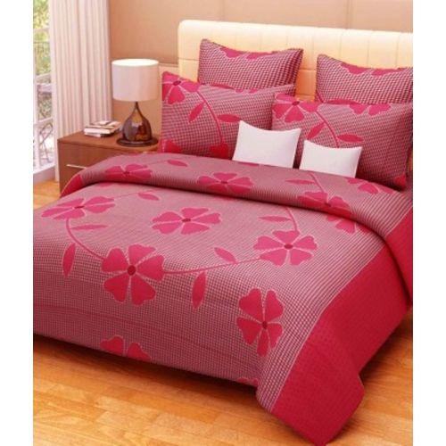 Chhabra Enterprises Cotton Double Floral Bedsheet