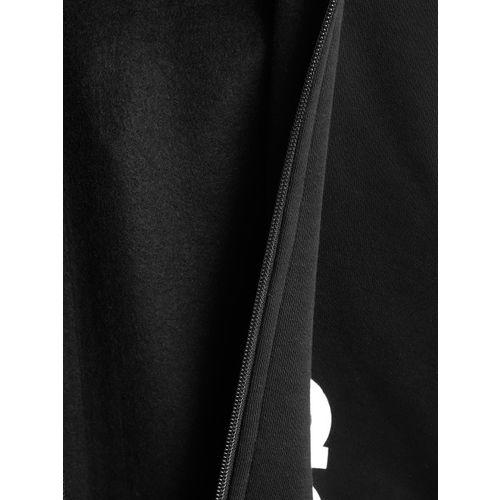 Adidas Boys Black LIN FZ Hooded Sweatshirt