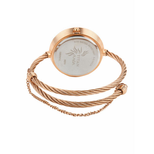Titan Raga Women Brown Dial Watch 2532WM01