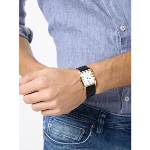 Titan Edge Men White Dial Watch NH1044YL04A