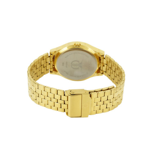 Titan Men Gold-Toned Dial Watch NH1648YM05