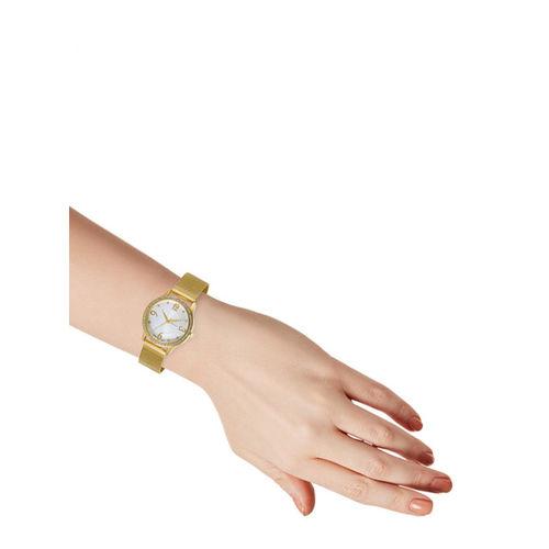 GIORDANO Women Gold-Toned Analogue Watch C2150-33