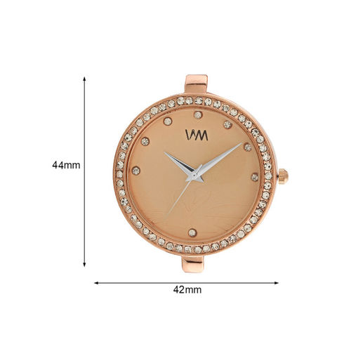 WM Women Beige Analogue Watch WMAL-335rp
