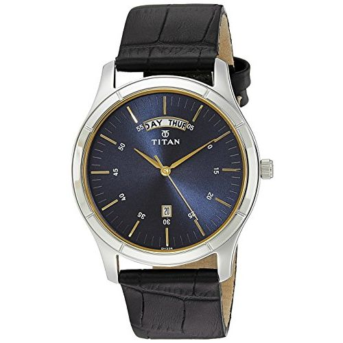 Titan Neo Analog Blue Dial Men's Watch-1767SL03
